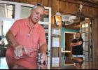 """Bob and Kat Jordan have started """"Sugar Tit Moonshine,"""" hoping to service local customers with some of the best clear corn whiskey in the Upstate."""