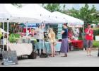 The Greer Farmers Market offers a variety of handmade products and fresh produce from local vendors.