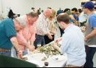 Shucking away: The Greater Greer Chamber of Commerce hosted the 13th Annual Cypress Internal Medicine Oyster Roast Friday night, benefiting Leadership Greer.