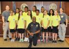 Eleven girls graduated from the Greer Police Department Youth Citizen's Academy last Friday at the city courthouse.