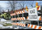 Railroads in Greer were closed last week due to repair.