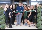 Owner Andre Canipe celebrated the opening of The Saltz Medical Spa last month at 103 Regency Commons Drive, Greer, with a ribbon cutting and more festivities.