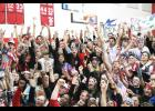 Greer Middle College Charter High celebrated raising more than $32,000 during last year's spirit week celebrations.