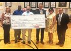 Blue Ridge Middle Plant Engineer Eddie Straub recently received a $1,000 check as a finalist in the 2021 Cintas Corporation Custodian of the Year program.