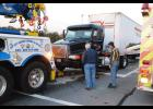 A two-car that occurred at Poinsett Street and Highway 29 on Monday resulted in a tractor trailer being towed from the scene. No injuries resulted from the wreck.
