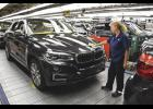 Pictured is the second generation X6, which began production last week.