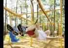 he City of Greer is planning to overhaul Kids Planet this fall, and this 50-foot zip-line is one of a number of new features.